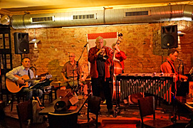 Vintage Jazz Trio plus One at the Brauhaus Suedstern Berlin