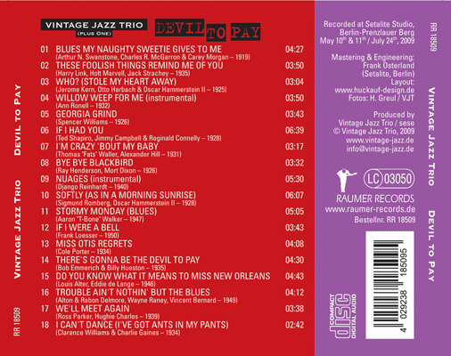 CD Devil to pay Cover2